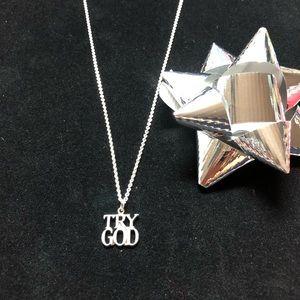 Tiffany & Co. Rare necklace-Try God